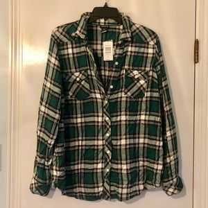 Torrid Flannel Top